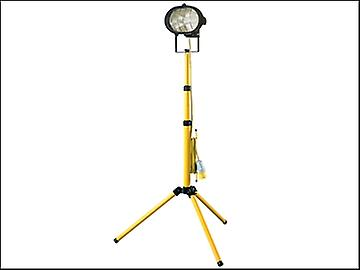 Faithfull Power Plus Sitelight Single With Tripod 500 Watt 110 Volt