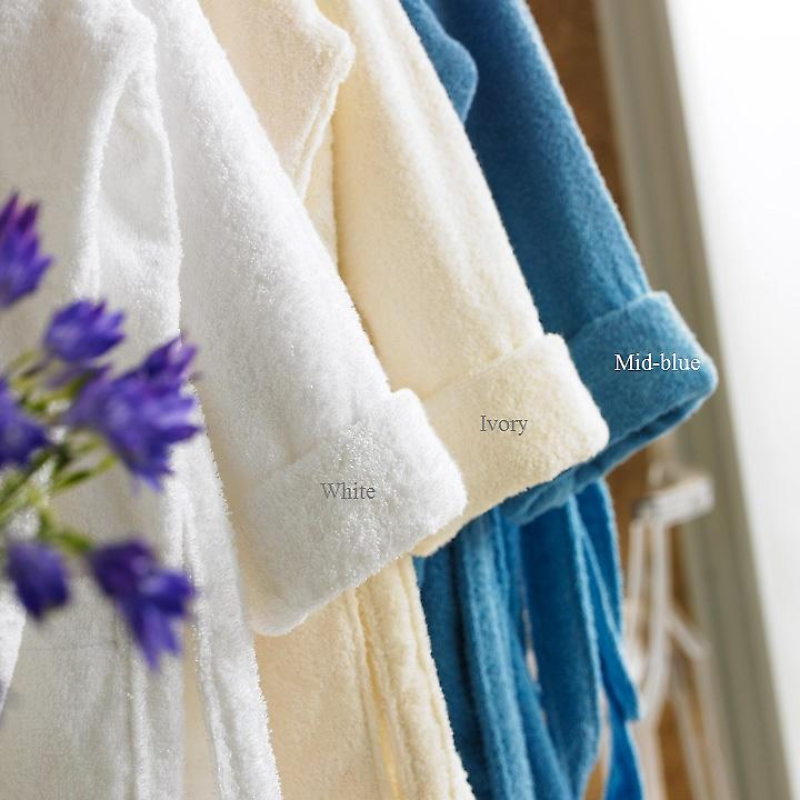 Hotel Quality Terry Towelling Cotton Bathrobe