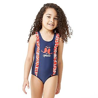 Speedo Girls' Frill Swimsuit
