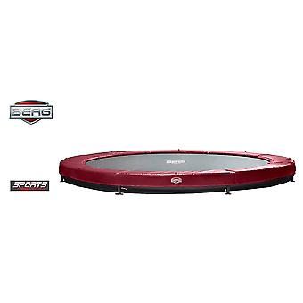 BERG InGround Elite 430 14ft Trampoline Sports Series Red