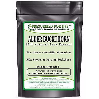Buckthorn - 10:1 Natural Bark Powder Extract (Rhamnus frangula)