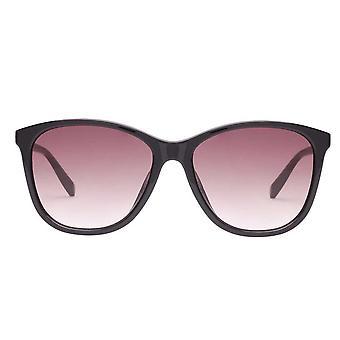 Le Specs Entitlement Black Cat Eye Sunglasses