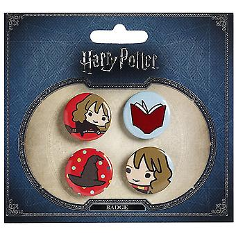 Harry Potter Chibi Button Badges (Style 2)