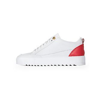 Ropa Mason prendas de vestir Mason blanco y rojo zapatillas de nubuck TIA