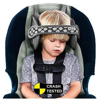 Napup child head support: sleep comfortably on the go (grey)