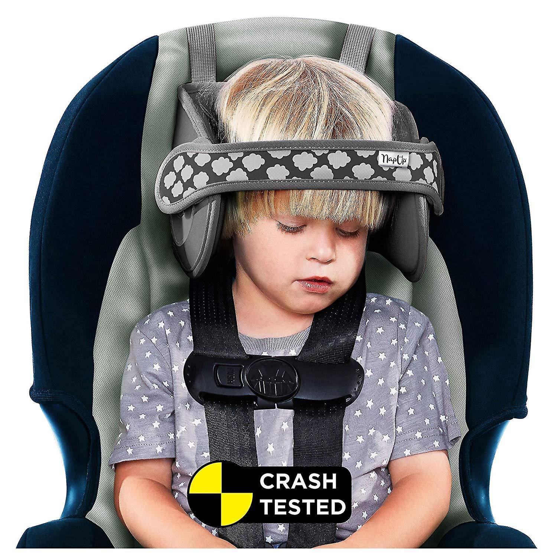 Soucravaten de tête d'enfant de napup  dormez confortableHommest sur le Go (gris)