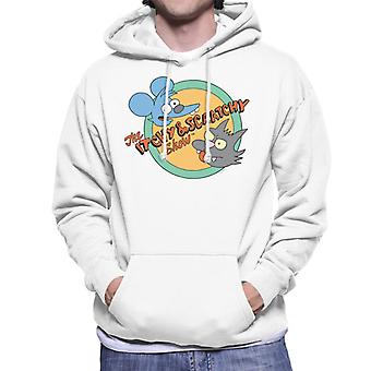 The Simpsons Itchy And Scratchy Show Men's Hooded Sweatshirt