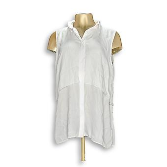 Joan Rivers Classics Collection Women's Top Sleeveless White A304117