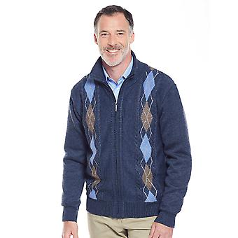 Mens Tootal Fleece Lined Cardigan