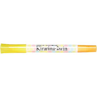 Kirarina 2win Pen-Lemon Yellow K2WIN-NLYEL