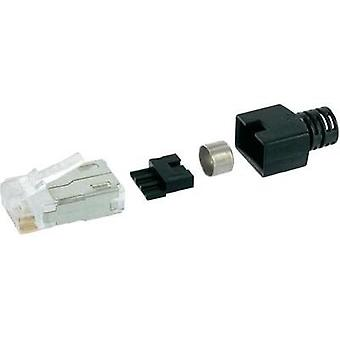 RJ45 connector CAT 6 Plug, straight Number of pins: 8P8C SS-39200-006