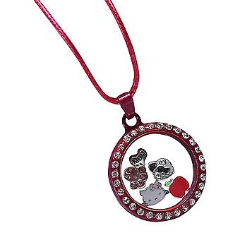 Floating necklace with pendant MFCO349