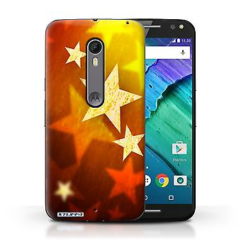 STUFF4 Case/Cover for Motorola Moto X Style/Stars/Christmas Decorations