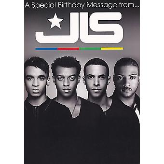 JLS Sound Birthday Greeting Cards A Special Message from JLS