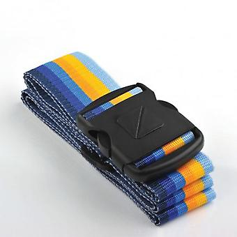 Travel Blue Strap fastenings suitcase. (Home , Storage and organization , Suitcases)