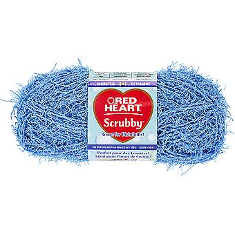 Red Heart Scrubby Yarn-Stream E833-805
