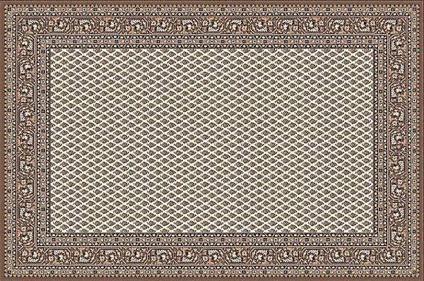 Kasbah Beige 12264-477 Shades of ivory, beige and brown Rectangle Rugs Traditional Rugs