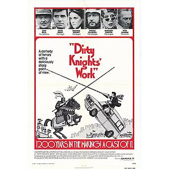 Dirty Knights Work Movie Poster (11 x 17)
