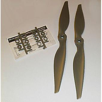 OmG Thin E PROP 9x6, 2 pcs
