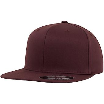 Visiera piana Flexfit fitted Cap - marrone rossiccio