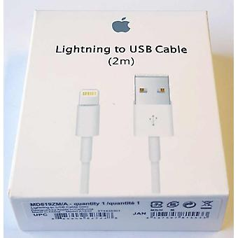 Blister original Apple carga MD819ZM/A rayo cable los 2 m, iPhone iPad iPod X 8 7 6 6