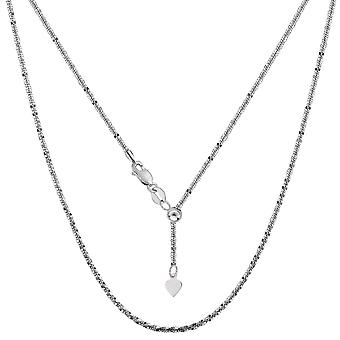 Sterling zilveren Rhodium Plated 22