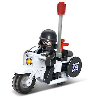 Sluban Anti-Riot Police Moto (Jouets , Constructions , Véhicules)