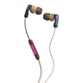 SKULLCANDY Headphone Strum Green/Brown In-Ear Mic