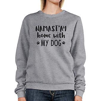 NamaStay casa con i miei regali di giorno di madri carina felpa cane grigio