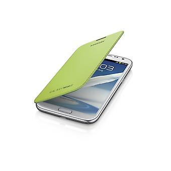 Original Samsung Flip Cover for Samsung Galaxy Note 2 (Lime Green)