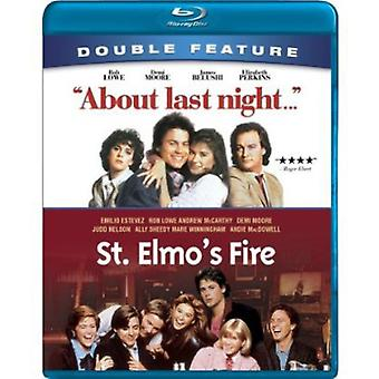 Om sista natt/st. Elmo's Fire [BLU-RAY] USA import