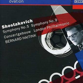 Haitink/Royal Concertgebouw Orch. - Shostakovich: Symphony No. 5; Symphony No. 9 [CD] USA import
