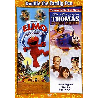 Adventures of Elmo in Grouchland/Thomas & the Magi [DVD] USA import