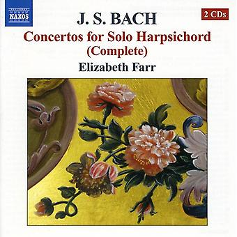 J.S. Bach - Js Bach: Concertos for Solo Harpsichord [CD] USA import