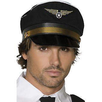 Gorra piloto negro
