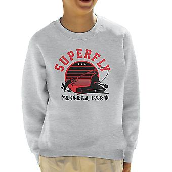 Superfly Fishing Crew Kid's Sweatshirt