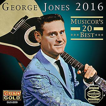 George Jones - 2016: Musicor's 20 Best [CD] USA import