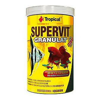 Tropical Supervit granulated 100 Ml (Fish , Food , Warm Water)