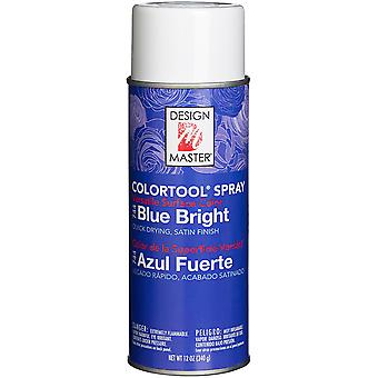 Design Master Colortool Spray Paint 12oz-Blue Bright DM-CT-744