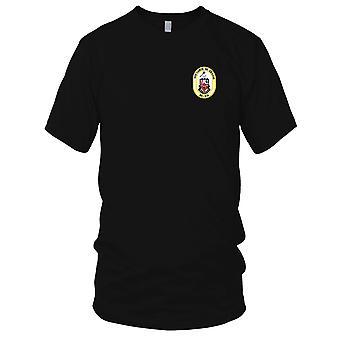 US Navy DD-974 USS Comte De Grasse Embroidered Patch - Kids T Shirt