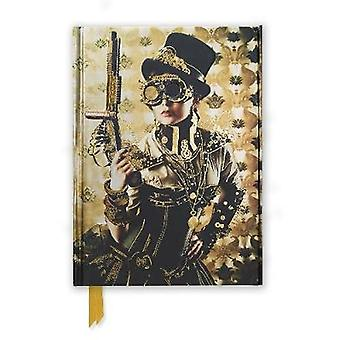 Steampunk Lady Foiled Journal by Flame Tree