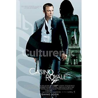 Imperio de 007 casino Royale - James Bond Poster Poster Print