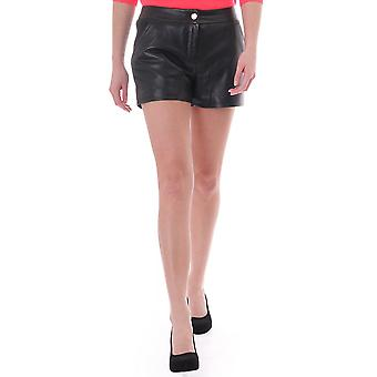 Ted Baker Womens Ted Baker Leather Detailed Shorts
