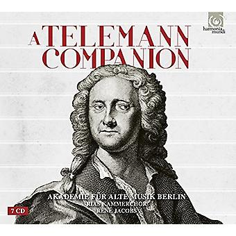 Various Artist - Telemann Companion [CD] USA import