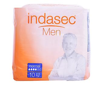 Indasec Men Absorbente Masculino Normal 10 Units Mens New
