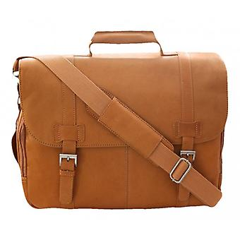 Cortez Laptop Briefcase - Tan