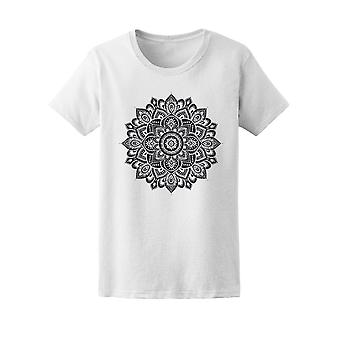 Magical Indian Floral Ornament Tee Women's -Image by Shutterstock