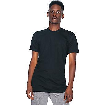 American Apparel Mens Fine Jersey Short Sleeve 100% Cotton T-Shirt