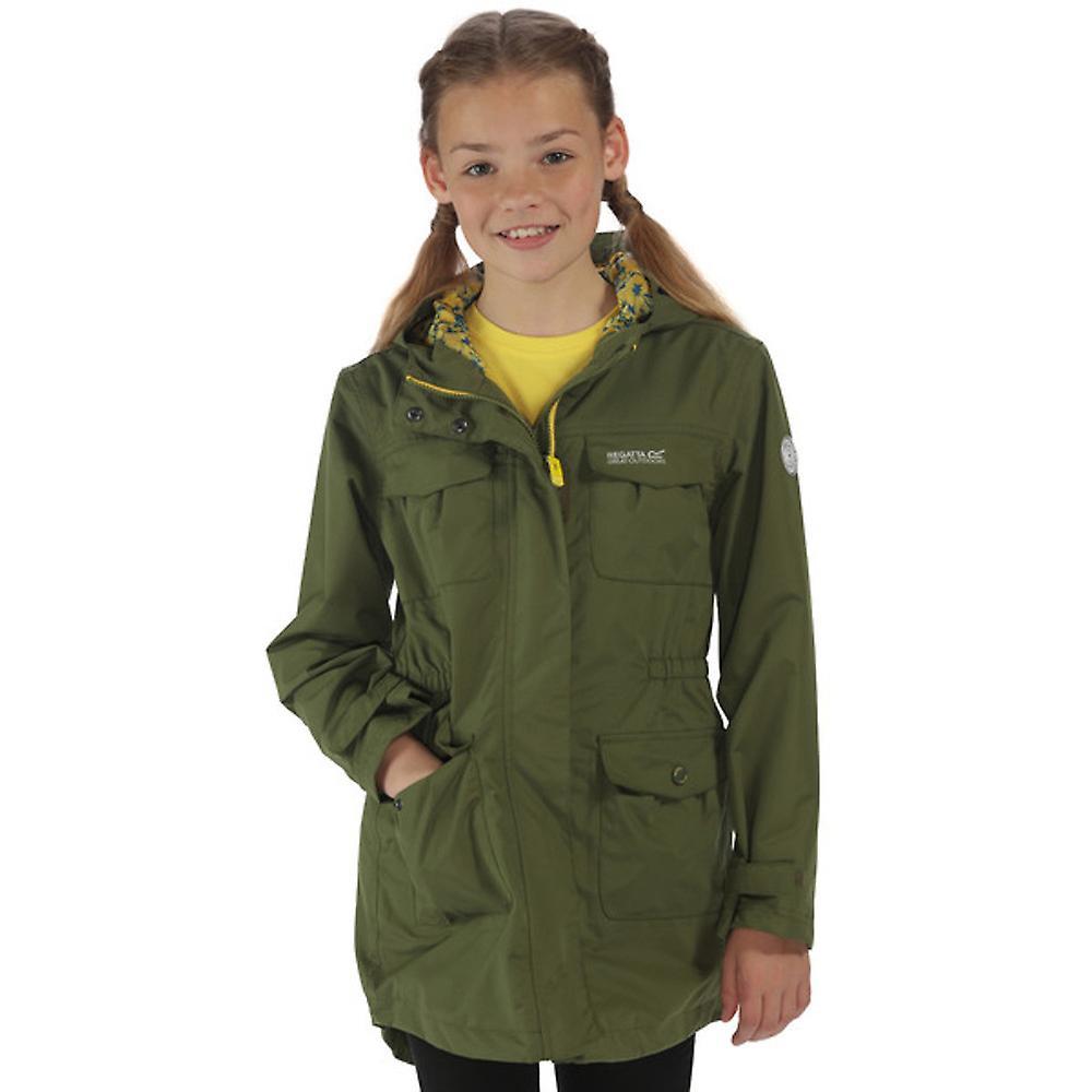 Regatta Boys & Girls Treasure II Waterproof Breathable Jacket