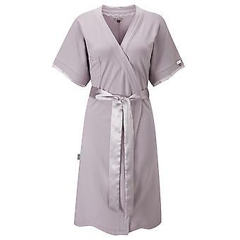 Ladies Loungewear Wrap In Oyster